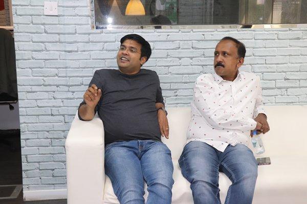 Ameer Ali with Santhosh Kuruvila at Radio Suno