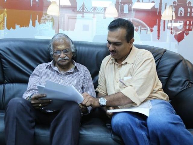 Sreekumaran Thampi at Radio Suno 91.7FM