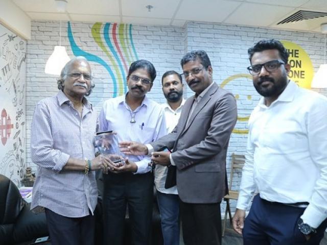 Sreekumaran thambi at Radio Suno 91.7FM