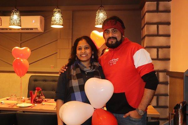 Radio Suno Station Head Santhosh Palee  at The chef house Restaurant