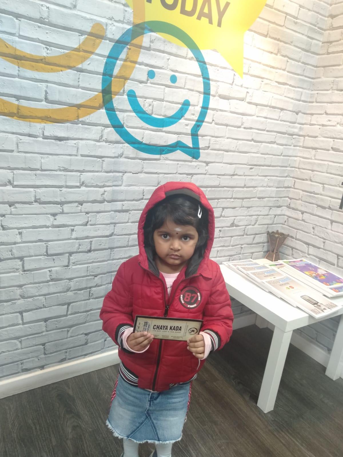 Chayakkada voucher winner