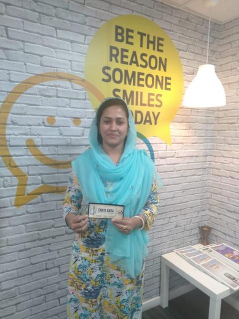 Chayakkada voucher winner-Sajna Subair
