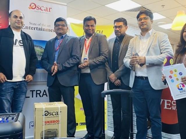 Oscar Product Launch at Radio Suno studio with Managing Director Mr.Ameer ali paruvally ,Krishnakumar and Oscar representatives