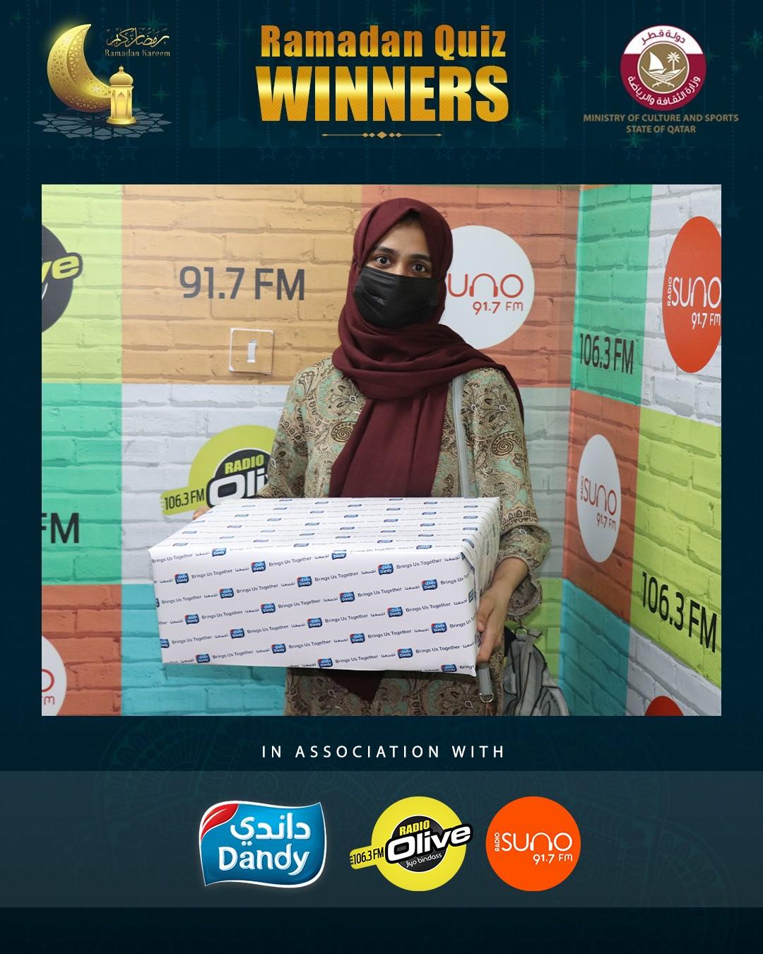 Ramadan Quiz Winners